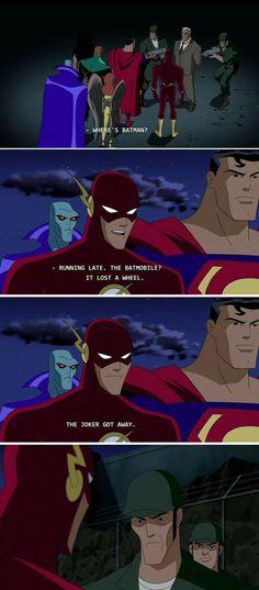Wally West aka The Flash