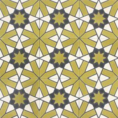 The arabian mosaic circle pattern is made out of stucco on - Rajola hidraulica ...