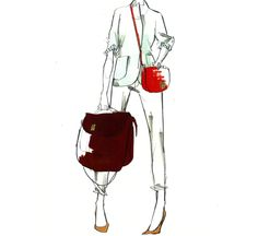 Sketches from J. Crews accessory designer Frances via their Tumblr account. I'm getting SO Excited for fall fashion!