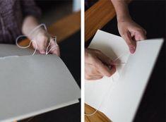 http://www.designsponge.com/2013/03/bookbinding-101-five-hole-pamphlet-stitch.html