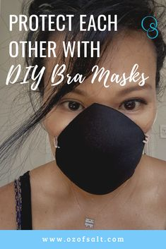 Check out this blog on how to make DIY Bra Masks. The bra face mask can be made with products we have at home. Great protection for ourselves and others in this pandemic time. #facemask #faceprotection #diyfacemask #brafacemask #FaceProtection