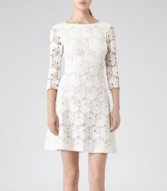 lace dress reiss