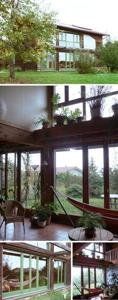 Maison écologique, eco home