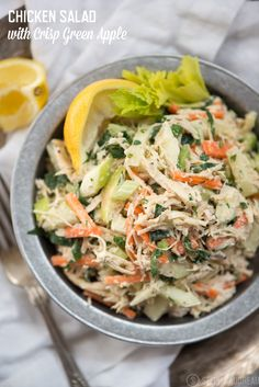 Chicken Salad with Green Apple Recipe | StupidEasyPaleo.com