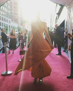 The beautiful @shaninamshaik helps us kick off the red carpet at the #CFDAAwards with a twirl. #Swarovski