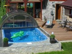 Výsledek obrázku pro malé zahrady s bazenem Tub, Outdoor Decor, Design, Home Decor, Bathtubs, Decoration Home, Room Decor, Home Interior Design