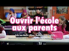 Ouvrir l'école aux parents, l'école Jean Moulin à Nimes (éducation prioritaire) -stand up - Journée de l'innovation 2015