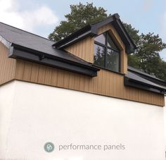 Trespa Pura NFC vertical, flush finish 'smart' #cladding system.