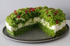 My menu: The ideal cake for Easter - Runo Forest / Forest Moss and 3 ideas on the masses Moss Cake, Types Of Cakes, Gluten Free Cakes, Eat Right, Pavlova, Avocado Toast, Sweet Recipes, Food And Drink, Cooking Recipes