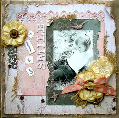 Layout: Smile ~ Scrap That! April Kit Reveal and Blog Hop ~ DT