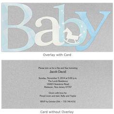 Whoa Baby Boy Sip and See Invitations | Storkie.com