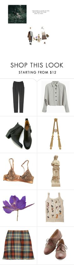 """beloved ancient exiles, tell me of the sea"" by alta-alatis-patent ❤ liked on Polyvore featuring Vanessa Bruno, Gargyle, Sportmax, La Perla, Vivienne Westwood Anglomania and Restricted"
