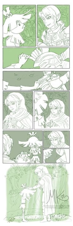 Back to the Forest by monkeykaos.deviantart.com on @deviantART oh my T-T