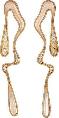 Fernando Jorge Stream Doubled Earrings at Barneys New York