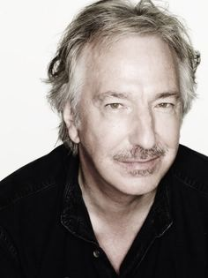 "2007 - This is one of the portraits done during a professional photo-shoot Alan Rickman had with ""Rankin"""