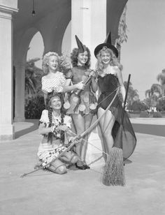 more vintage witches
