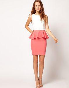 Nice Peplum dress!