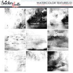 Watercolor Textures 01
