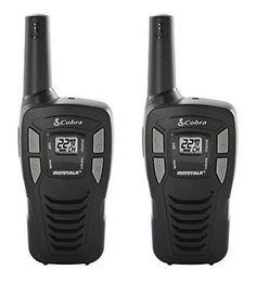 ﹩22.57. Cobra Walkie-Talkie Two-Way Radio, 2/Pack (CX112)    Service - FRS, Band(s) - UHF, Type - Portable/Handheld, MPN - CX112
