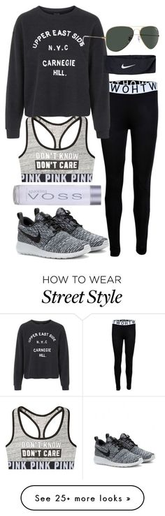 Polyvore featuring Topshop & NIKE