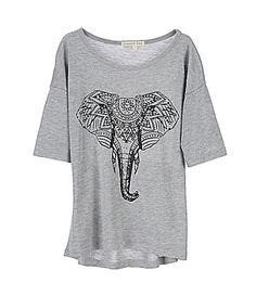 Copper Key 716 Studded Elephant Top #Dillards
