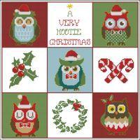Hooties Christmas Owls Sampler