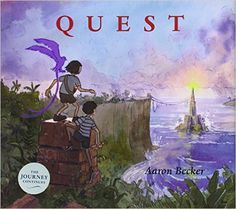 Quest by Aaron Becker (and other adventurous books)