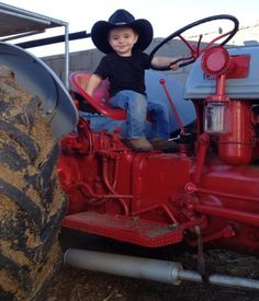 If only the tractor was green lol