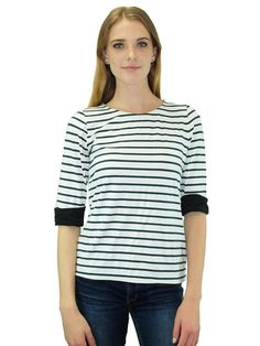 Relished Parisienne Striped Shirt | Find this at www.relished.com