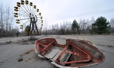 Pripyat, Ukraine, near the site of the Chernobyl nuclear disaster. Photograph: Sergei Supinsky/AFP/Getty Images
