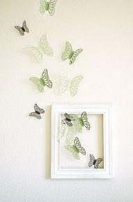 con mariposas