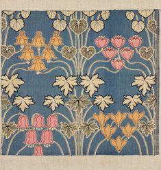 Woven textile, 59 x 64 cm, ca 1900, Museum of Decorative Arts in Prague