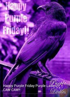 It's Purple Friday!