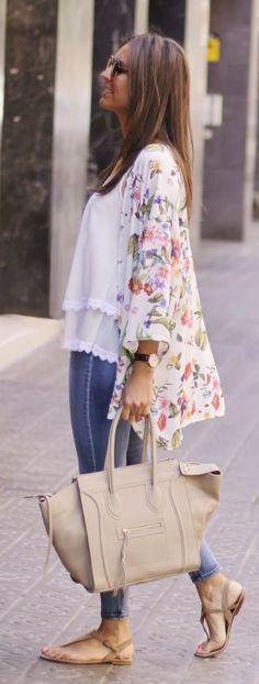 Beautiful floral kimono