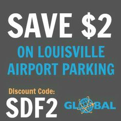SDF Louisville Airport Parking Coupon