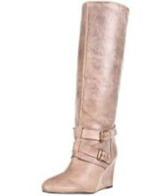 Must have this Steve Madden wedge boot...love this color