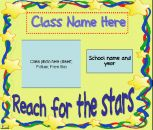 Open House Slideshow - Stars Theme product from SOS-Supply on TeachersNotebook.com