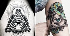 Enlighten yourself with the mystical and controversial All-Seeing Eye also known as the Eye of Providence, a very popular symbol in tattoos.