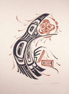 haida raven steals the sun - Google Search