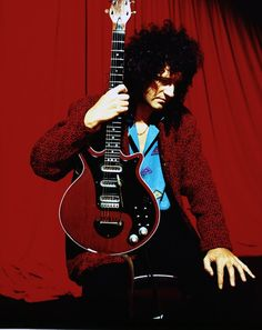 """Brian Harold May CBE is an English musician, singer, songwriter and astrophysicist who achieved international fame as the lead guitarist of Queen. He uses a home-built guitar, """"Red Special"""". Wikipedia"""