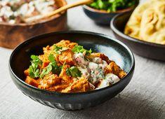 Trop réconfortant, trop facile, trop bon. Naan, Vegan Tikka Masala, Clean Eating, Healthy Eating, Healthy Food, Slow Cooker Recipes, Meal Planning, Food Porn, Lunch
