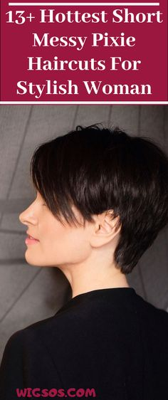 Hottest Short Messy Pixie Haircuts For Stylish Woman Messy Pixie Haircut, Long Pixie Hairstyles, Pixie Haircuts, Short Pixie, Pixie Cut, Hot Shorts, Haircolor, Short Hair Styles, Fashion Beauty