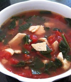 My HCG Cooking Blog - Favorite recipes and discoveries on my HCG weightloss journey: P2 Chicken, Spinach, Tomato Soup