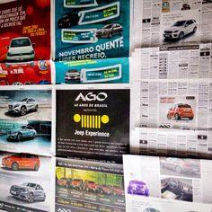 Choveu anúncio bonito da 11:21 no O Globo mais uma vez. #occupyoglobo #bomdiapropaganda