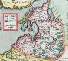 1570 map of the Baltic region - by Abraham Ortelius Everything Is Illuminated, Baltic Region, Geography Map, Map Globe, Old Maps, State Map, Historical Maps, Vintage World Maps, History