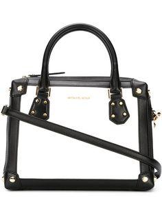 MICHAEL MICHAEL KORS Medium Bicolour Tote Bag. #michaelmichaelkors #bags #shoulder bags #hand bags #leather #tote