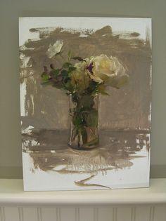 Michael Klein Workshop at NRAS was wonderful Flower Vases, Flower Art, Still Life Flowers, Still Life Oil Painting, Still Life Art, Traditional Paintings, Arte Floral, Beautiful Paintings, Art Oil