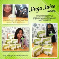 For Jinga Juice Sweden orders and dealership, contact Loraine at jingajuicesweden@gmail.com / +46739954111  or visit her Facebook Page: www.facebook.com/JingaJuiceSweden Beauty Shop, Juice, Facebook, Cover, Health, Green, Books, Libros, Health Care