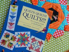 """""""Quilts! Quilts!! Quilts!!!"""" One of the best quilting books, ever."""