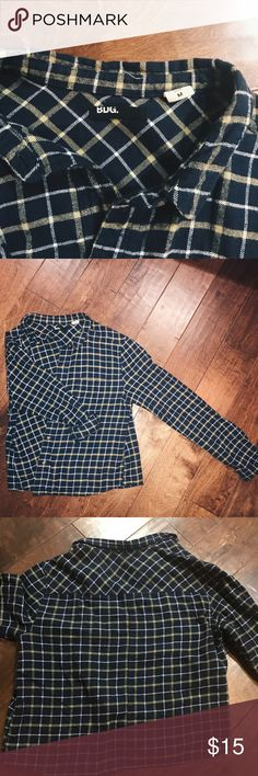 BDG Plaid Flannel lightly worn; no damages Urban Outfitters Tops Button Down Shirts
